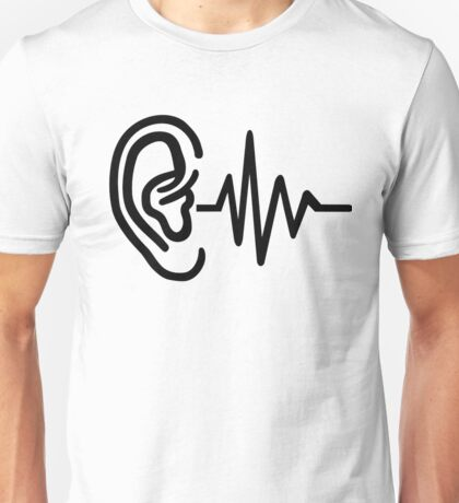 Ear frequency Unisex T-Shirt