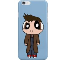 10th Doctor Powerpuff Style! iPhone Case/Skin