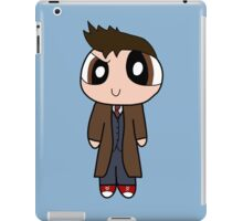 10th Doctor Powerpuff Style! iPad Case/Skin