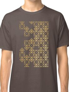 Geometric Gold Classic T-Shirt
