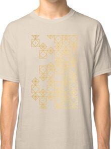 Geometric Gold Classic T-Shirt
