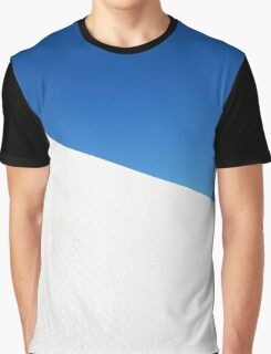 White Sand Dune and Blue Sky  Graphic T-Shirt