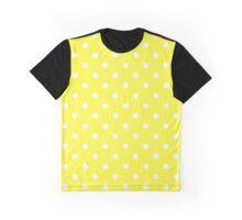 Pretty In Yellow Polkadots Graphic T-Shirt