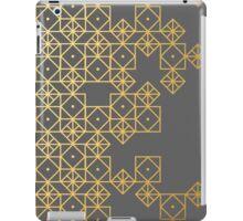 Geometric Gold iPad Case/Skin