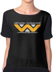 Space Deep Weyland Industries Chiffon Top