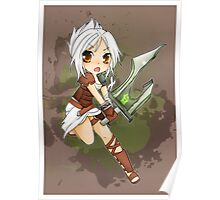 Riven chibi - League of Legends Poster