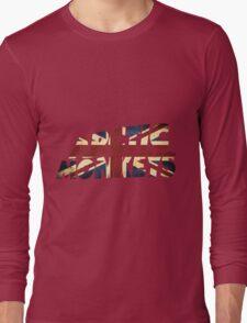 ARCTIC MONKEYS UNION JACK PRINT  Long Sleeve T-Shirt