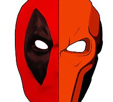 Deadpool/Deathstroke by mist3ra