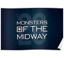 Monsters of the Midway Poster