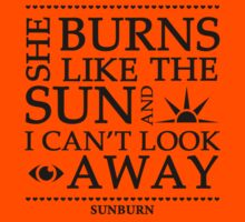 Muse Sunburn Lyrics Design  by -DeadStar-