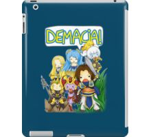 DEMACIA! - League of Legends iPad Case/Skin