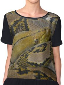 Snake Chiffon Top