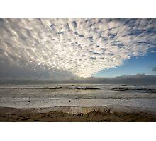 Clouds. Mimizan- Plage, France.  Photographic Print