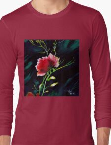 Red Flower New Long Sleeve T-Shirt