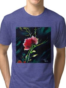 Red Flower New Tri-blend T-Shirt
