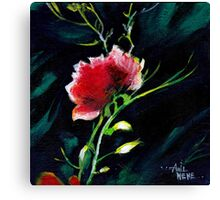 Red Flower New Canvas Print