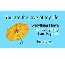 How I Met Your Mother: Yellow Umbrella Photographic Print