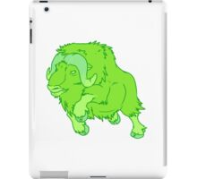 Leaping Lime Musk-ox iPad Case/Skin