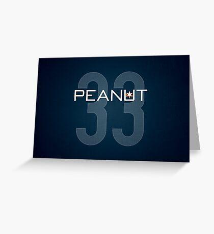 Peanut Greeting Card