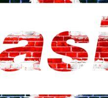OASIS UNION JACK DESIGN Sticker
