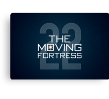 The Moving Fortress Canvas Print
