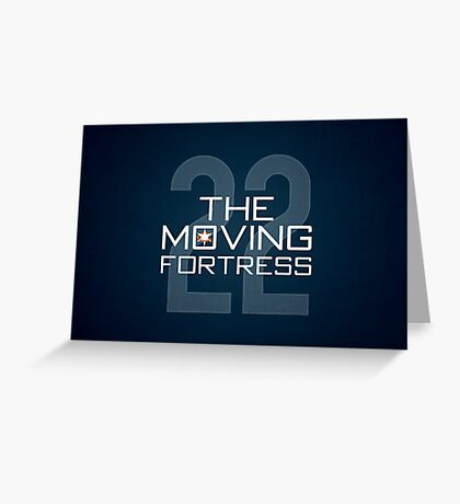 The Moving Fortress Greeting Card