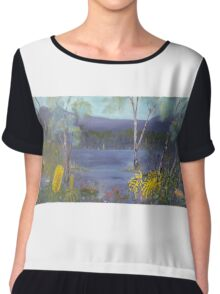 Spring in the Grampians National Park Chiffon Top