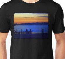 Yoga Sunset Unisex T-Shirt
