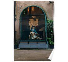 Urban Pieta- Dublin Ireland Poster