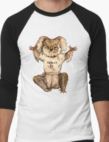 Cuddle Koala Men's Baseball ¾ T-Shirt