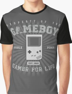 Property of the Gameboy Graphic T-Shirt