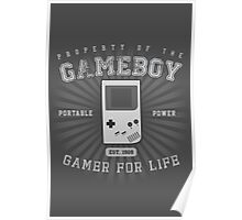 Property of the Gameboy Poster