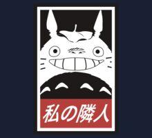 My Neighbor, Totoro! (Obey Parody) Kids Tee