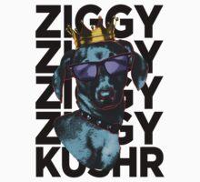 Kushr King Ziggy (Black) One Piece - Long Sleeve