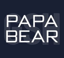 Papa Bear by fohkat