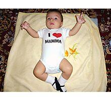 Very,very Sweet Baby Photographic Print