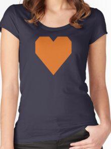Special Request Orange  (Pantone 158c) Women's Fitted Scoop T-Shirt