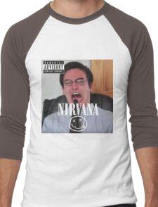 Filthy Frank Life Hacks Men's Baseball ¾ T-Shirt