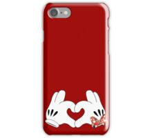 Minnie and Mickey Love iPhone Case/Skin