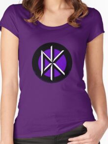 Retro Punk Restyling Dead kennedys Women's Fitted Scoop T-Shirt