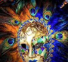 Venetian Carnival Mask - iPhone Case by Tom Gomez