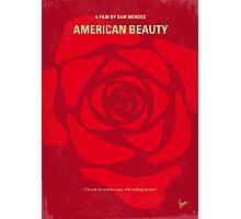 No313 My American Beauty minimal movie poster Photographic Print