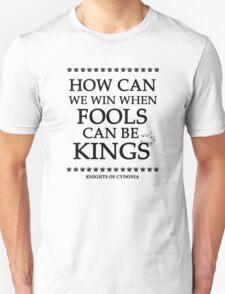 Knights of Cydonia Lyrics Design T-Shirt