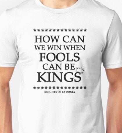 Knights of Cydonia Lyrics Design Unisex T-Shirt