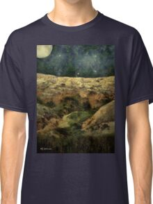 Beautiful Night in the Badlands Classic T-Shirt