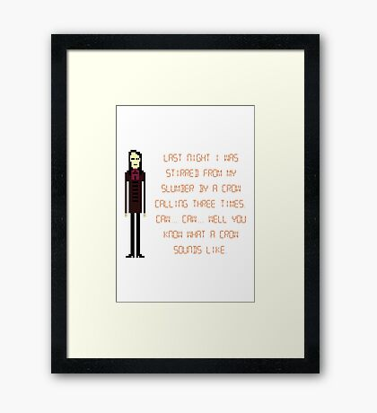 The IT Crowd – A Crow Calls Three Times Framed Print