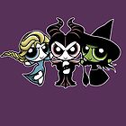 Powerpuff Witches by Jen Pauker