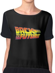 Back to the Future Chiffon Top