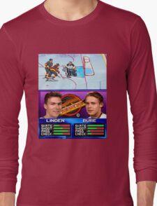 Vancouver Canucks Arcade Shirt  Long Sleeve T-Shirt