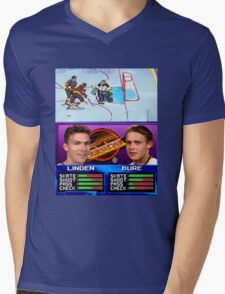 Vancouver Canucks Arcade Shirt  Mens V-Neck T-Shirt
